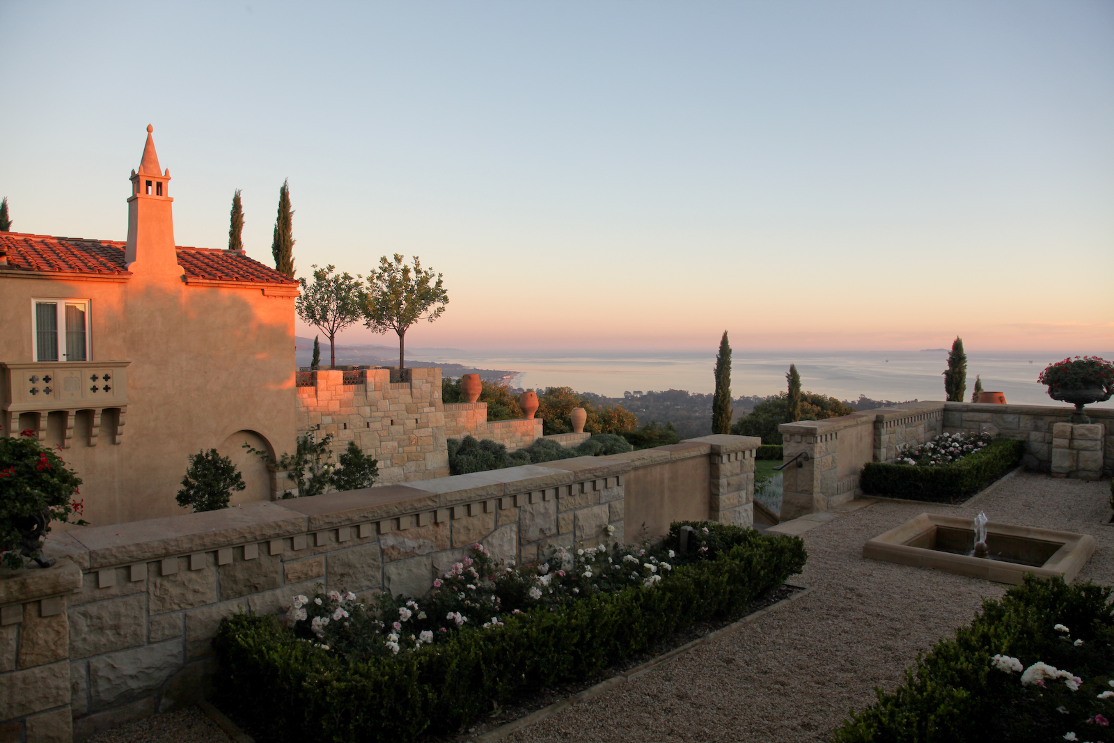 Mediterranean Residential Design, Santa Barbara, Ca