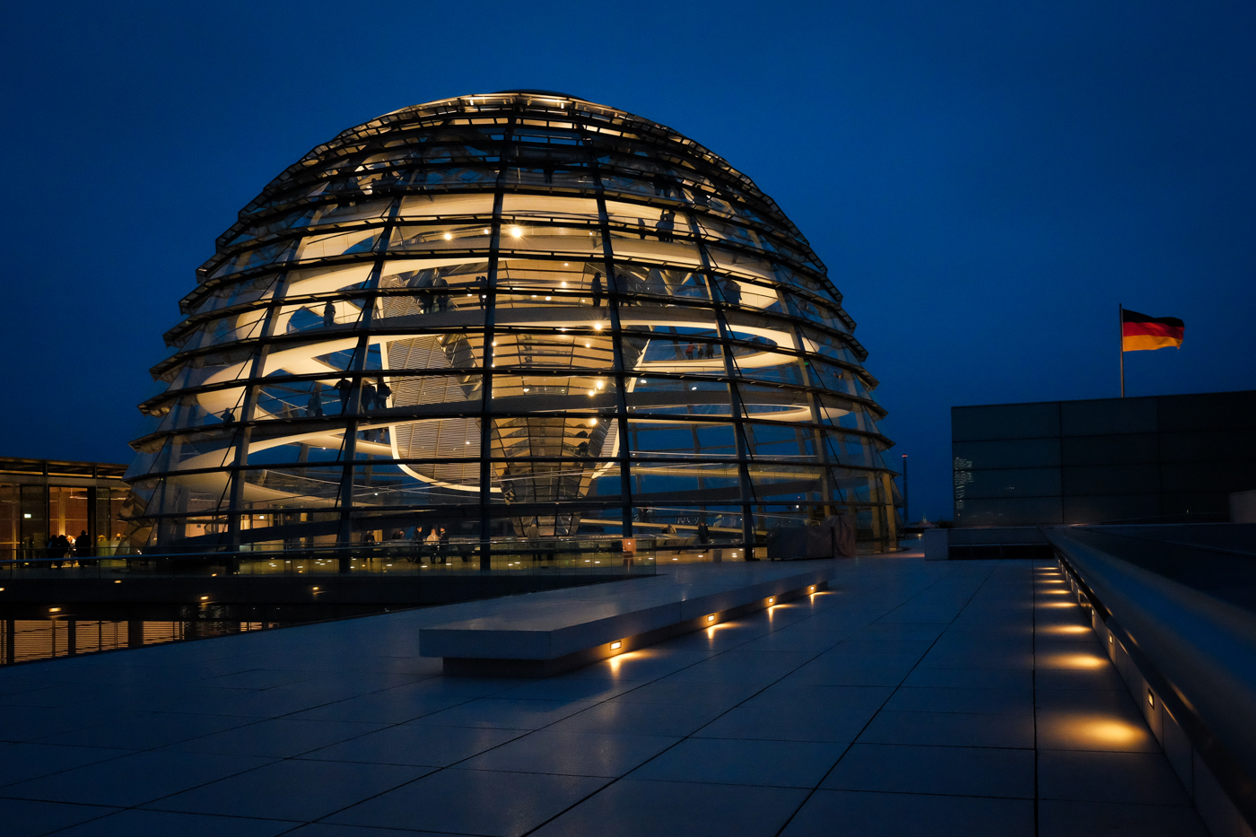 Reichstag Dome at Night.jpg