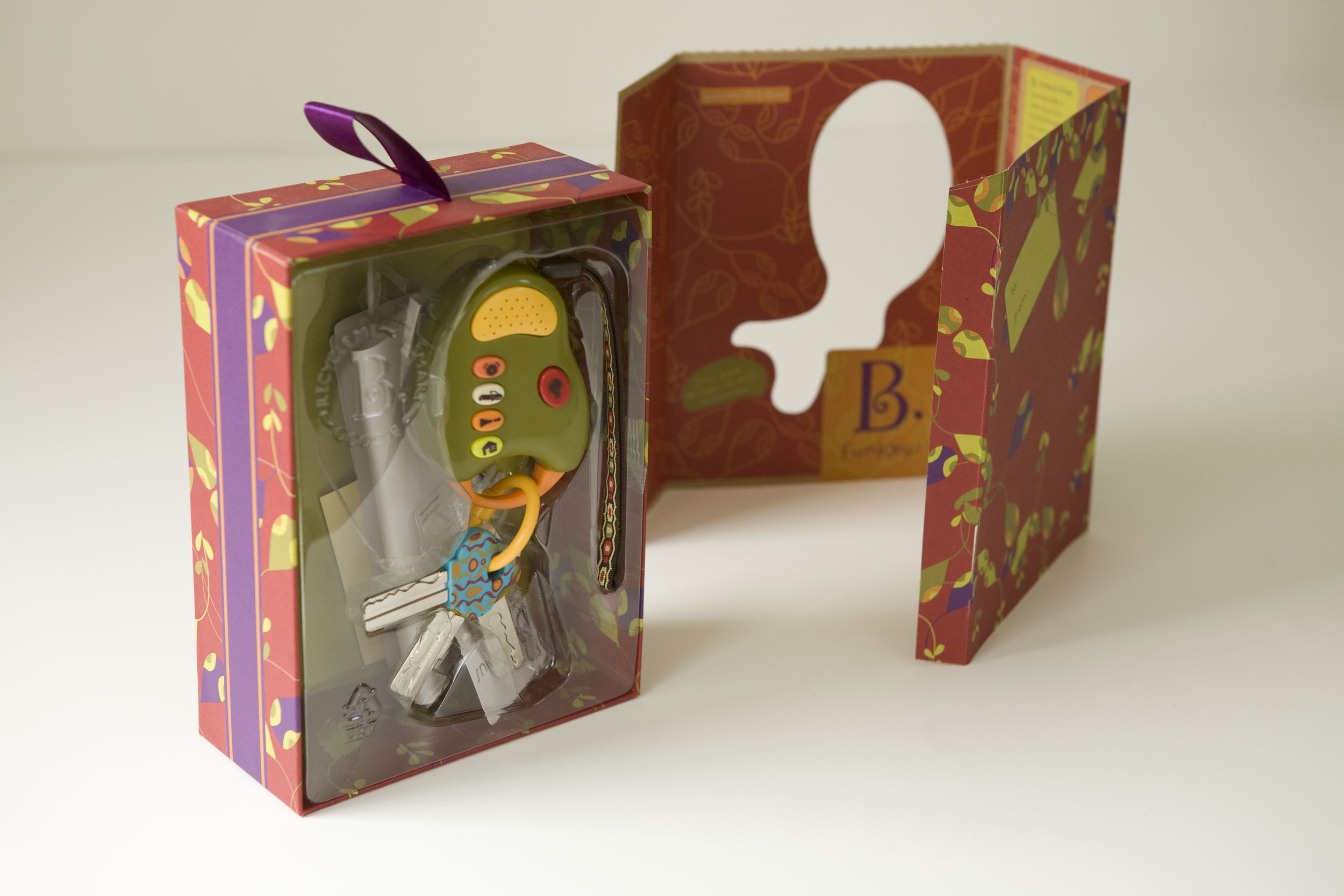 The packaging was recyclable, reusable and some even reversed to become gift wrap.