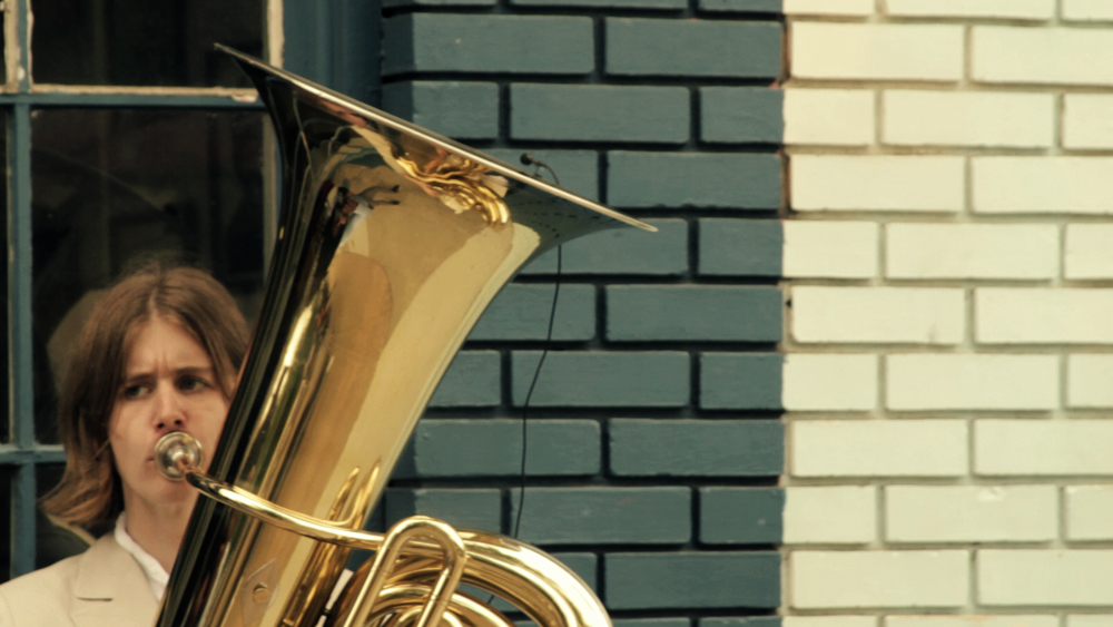 A young autistic woman details how playing a tuba in the streets of Atlanta has helped her sharpen her voice as an activist.