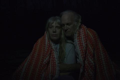 An elderly couple seeks to make their relationship more adventurous.