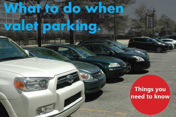 A lot of people think they know how to valet park, but they don't. Here is how you should handle the situation.
