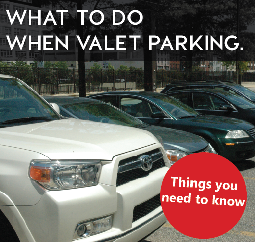 The latest thinking in how to smartly use valet parking services.