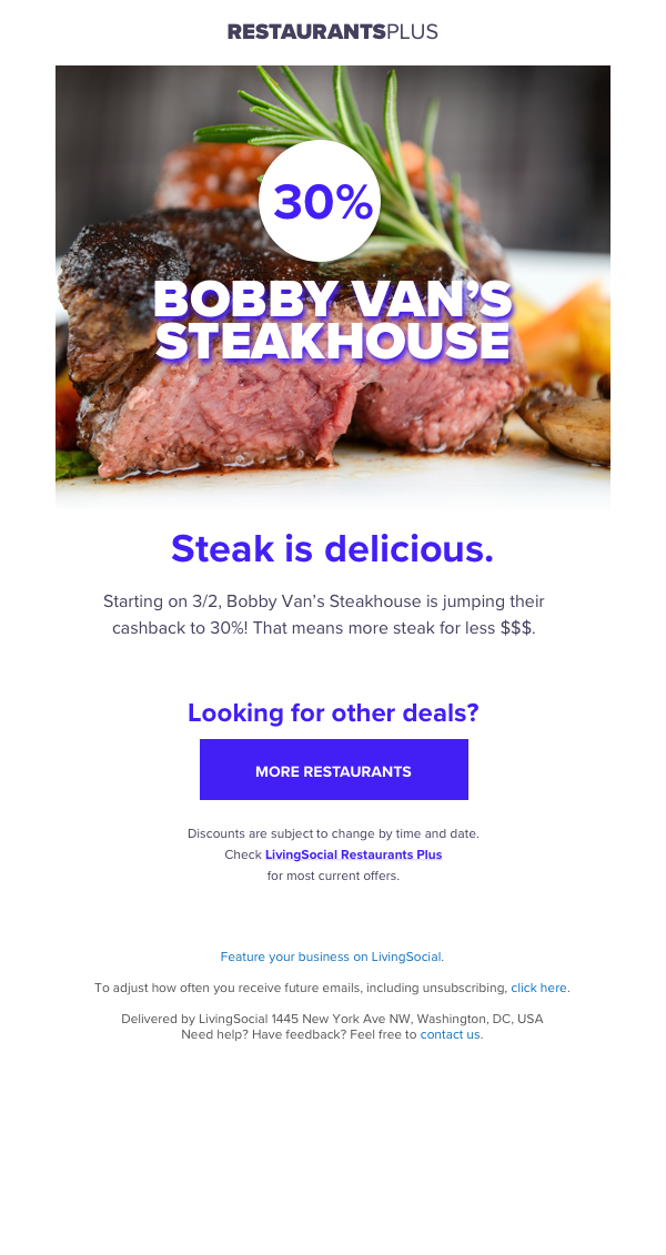 Email Campaign -