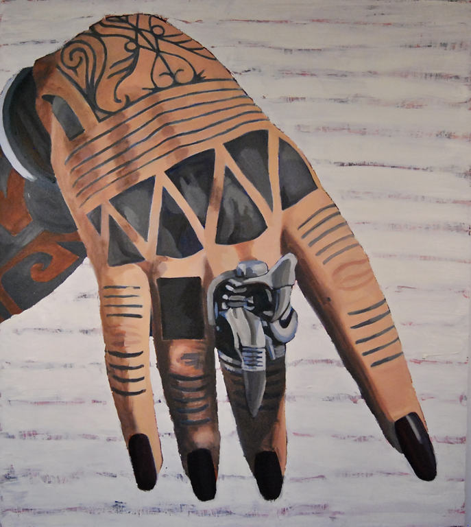 La Negra's Hand