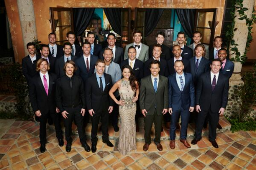 Andi Dorfman and her twenty-five suitors