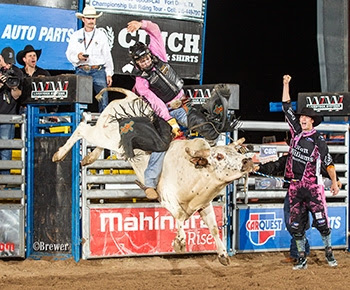 Wyatt Rogers at a CBR event in Mercedes, TX Photo Credit - Todd Brewer