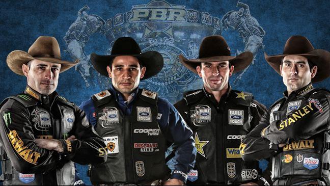 Left to right: Guilherme Marchi, Joao Ricardo Vieira, Fabiano Vieira, Silvano Alves (Photo Credit Goes To PBR)