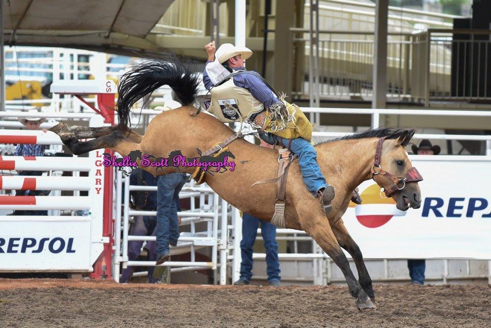 Bobby Mote Round 4 Winning Ride! Photo Credit - Shellie Scott