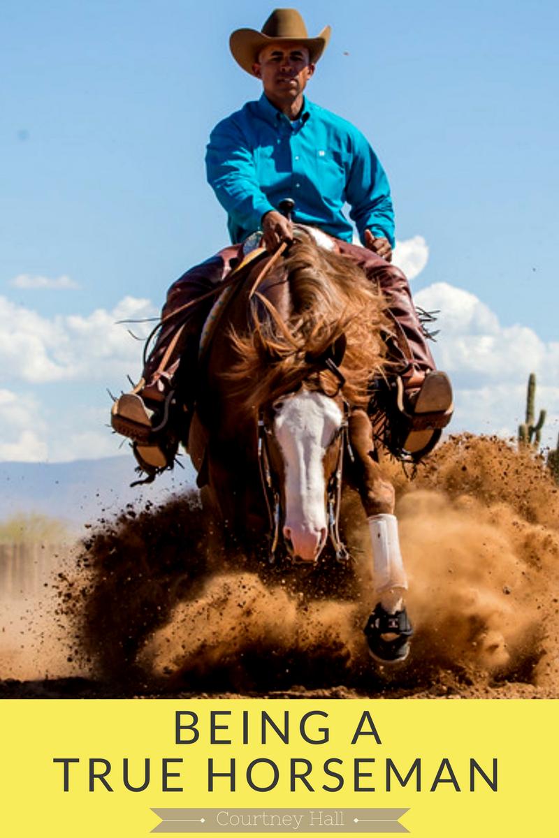 Being a true horseman.png