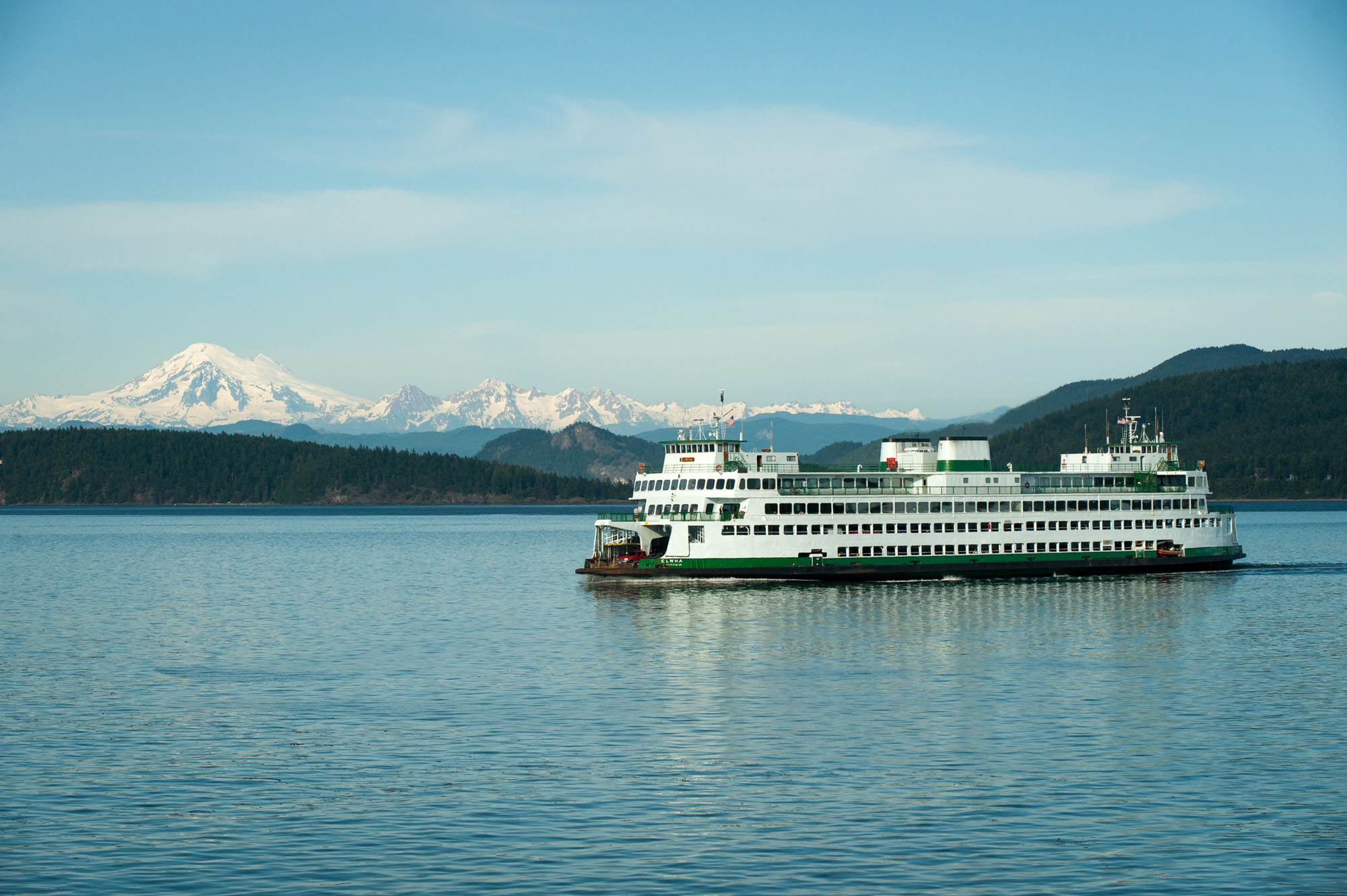 Start your journey by Ferry