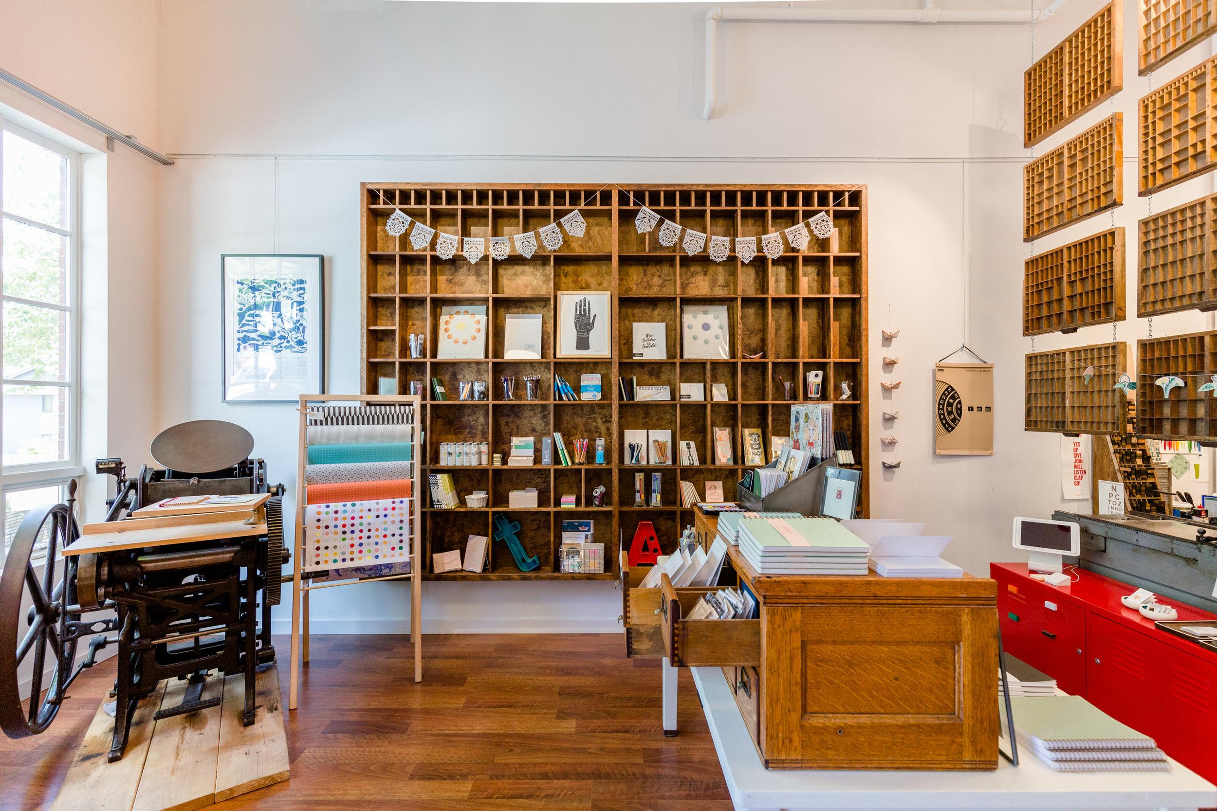 Grapheme Letterpress + Shop