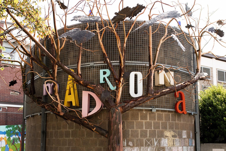 Iconic Madrona Sign