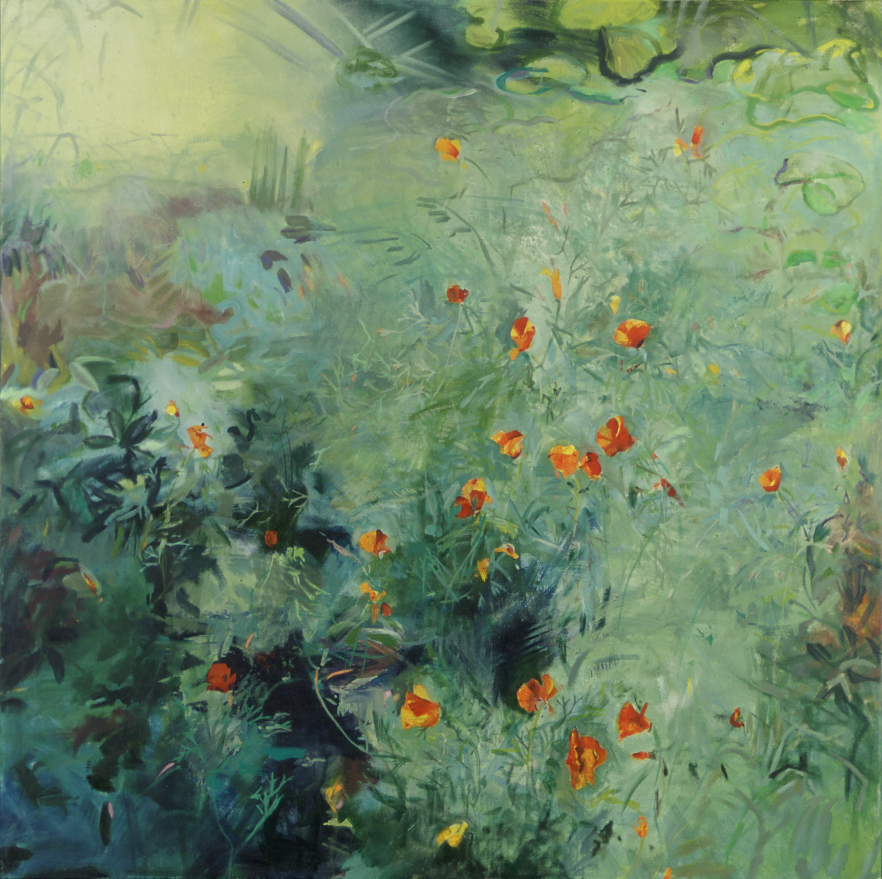Self Sown,2004 , Oil on Canvas,66″ x 66″