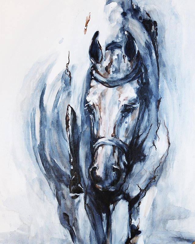 "Oil on Birch 20""x24""x2"" ⠀ ⠀ ⠀ ⠀ ⠀ ⠀ ⠀ ⠀ ⠀ ⠀ #equine#sport#horse#horses#horsesofinstagram#equestrian#paint#painter#art#artwork#design#decor#in terior#boise#idaho#idahoart#equineArt#horseart#designer#artist#bliseartist#boisedesigner#idahoartist"