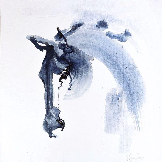 "12""x12""x1"" oil on birch ⠀ #studiosunday⠀ ⠀ ⠀ ⠀ ⠀ ⠀ ⠀ ⠀ ⠀ ⠀ ⠀ ⠀ ⠀ ⠀ ⠀ ⠀ ⠀ ⠀ ⠀ #art#artist#artofinstagram#instaartist#paint#painter#painting#oilpainting#studio#studioart#boise#boiseartist#idaho#idahoartist#equestrian#equestrianart#horse#abstract#expression"
