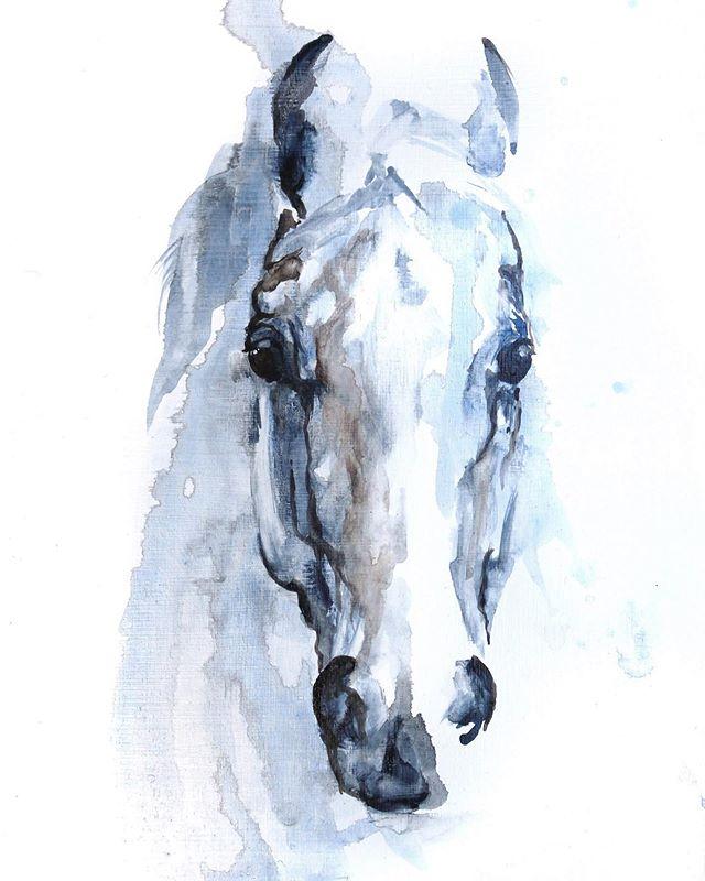 The look your horse gives when... ⠀ ⠀ ⠀ ⠀ ⠀ ⠀ #horse#art#painting#artistofinstagram#boiseartist#look#interiordecor#interiordesignart#designer#equine#equestrian#equestrianart#eventing#dressagehorse