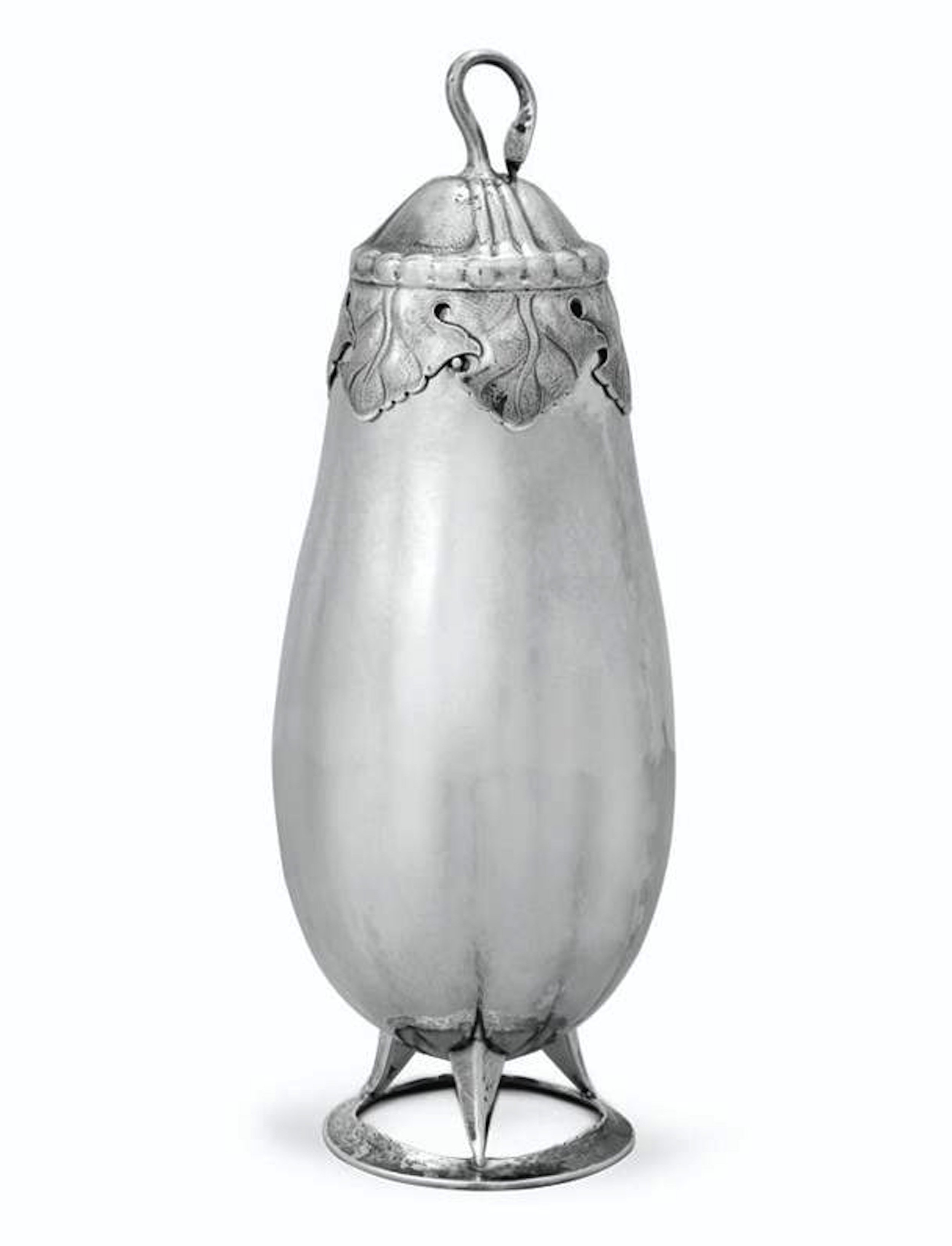 Peer Smed, Brooklyn New York. Cocktail shaker, 1934.