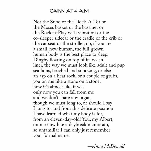 Kind of a love poem to my baby, in today's New Yorker.