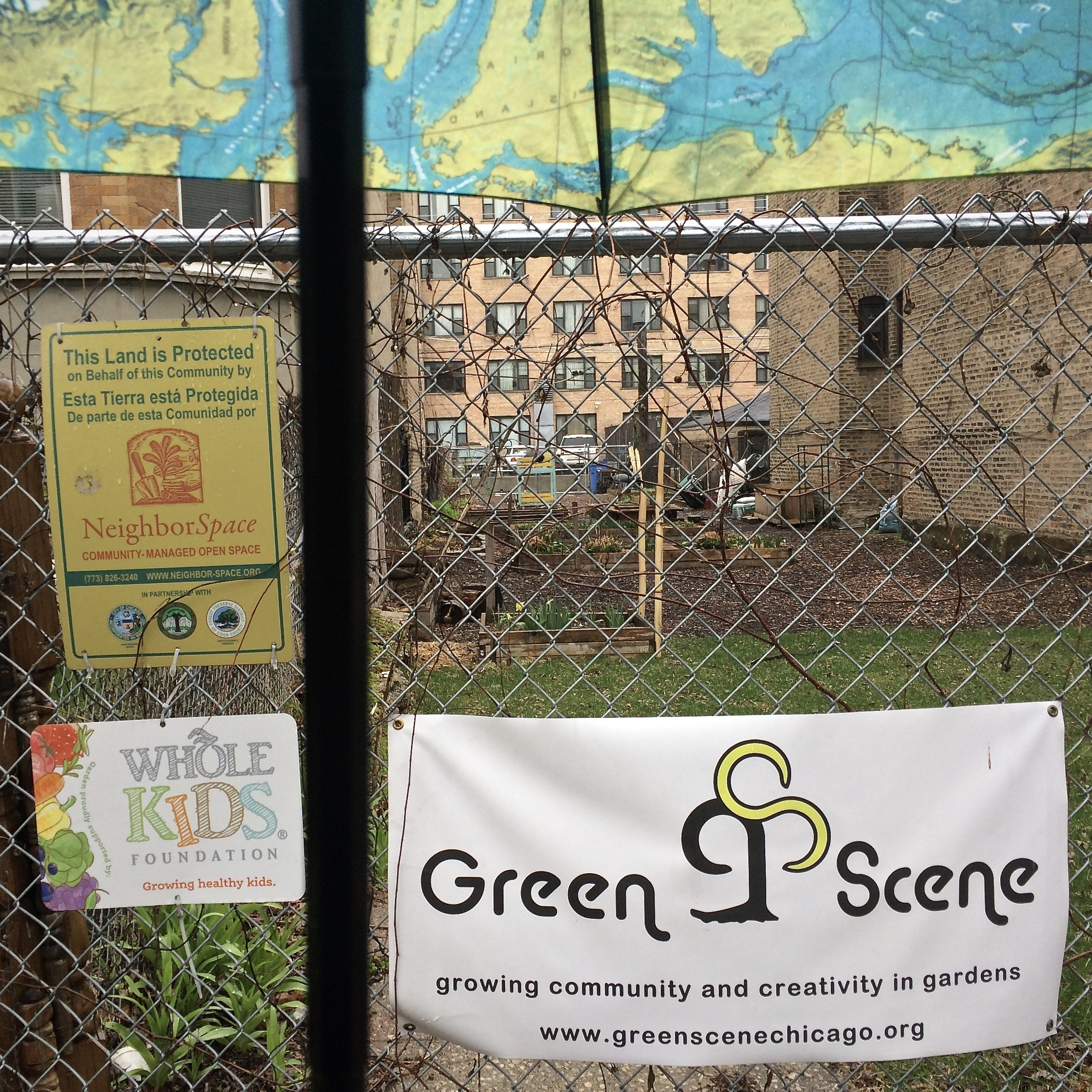 #aprilshowers #communitygreenspace #Uptown #YIMBY