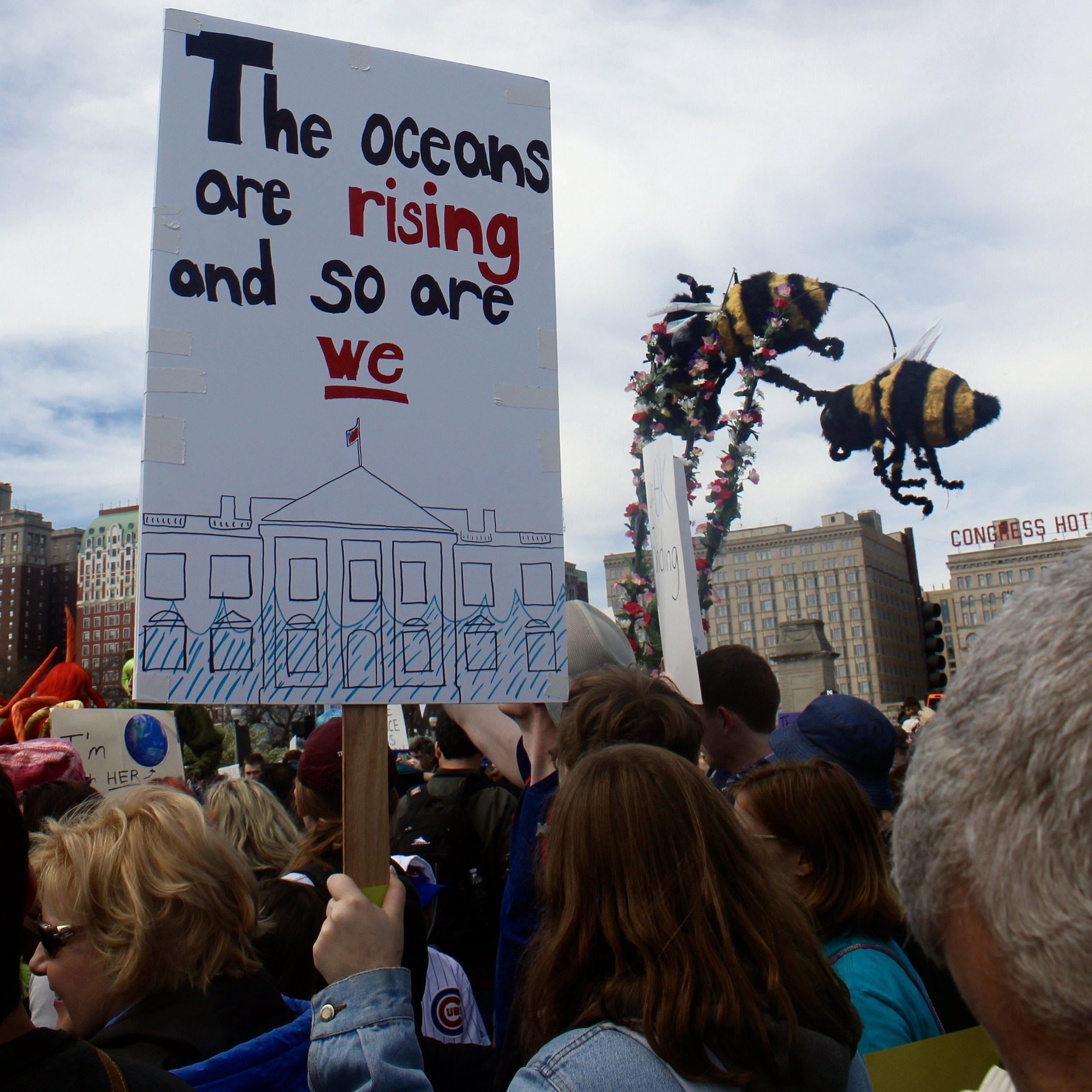 #ClimateRevolution #FreeAdmission #ExpensiveToRideTheBench