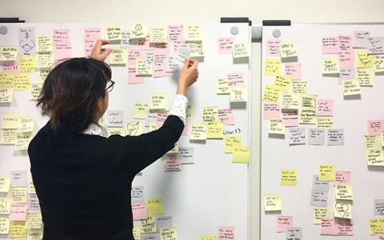 Design Sprint - Utilizing the Google Design Sprint framework, we rethought the Geiger product page online experience. Design sprints are a framework for teams of any size to solve and test design problems in 5 days or less.