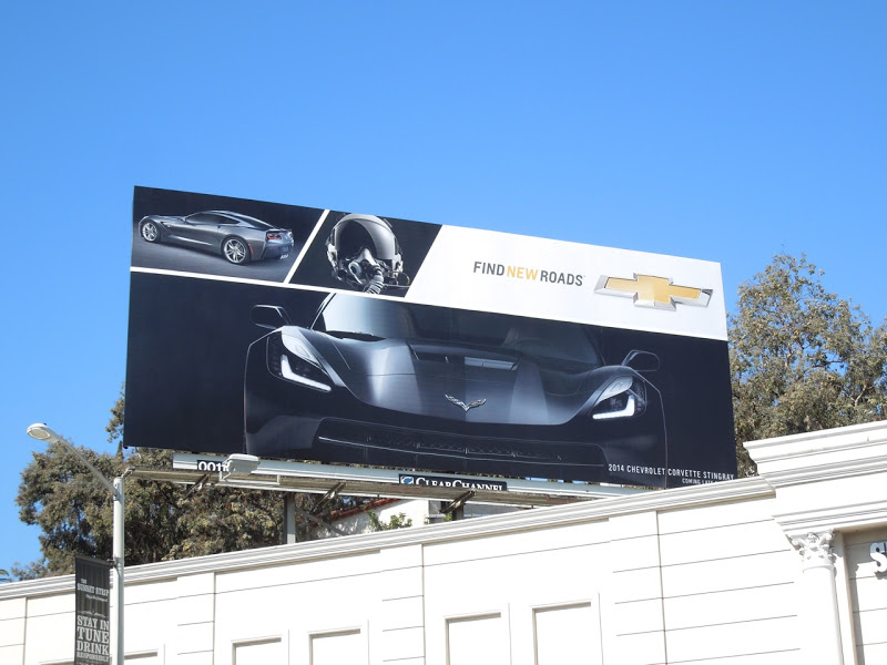 Corvette billboard.