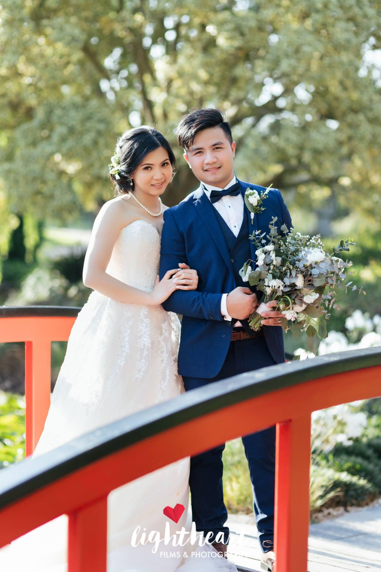 Bride's Bouquet & Buttonhole