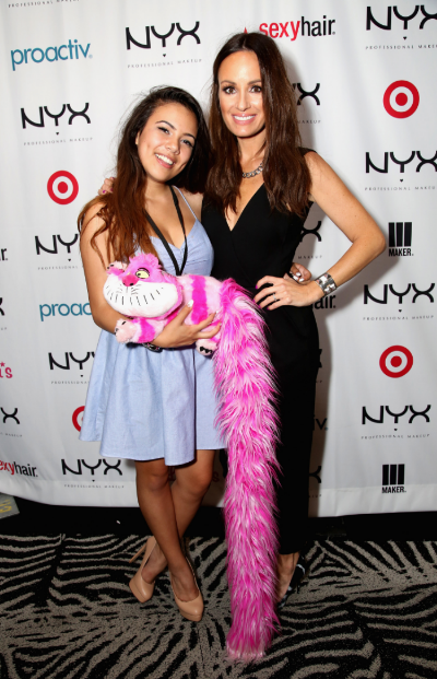 2014 NYX FACE Awards Winner Adelaine Morin & E!'s Catt Sadler