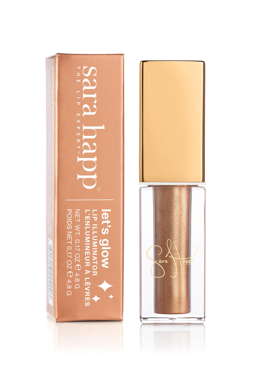 Sara Happ Let's Glow Lip Illuminator in Golden Box and Vial.jpg