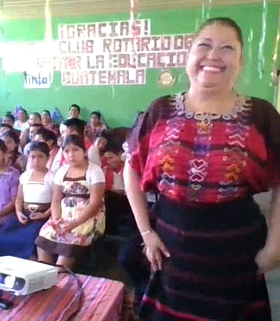 6th grade teacher Carmenia surprised us by telling us she has 53 students in her class