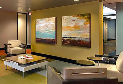Corporate Office Artwork Picture Framing Portland