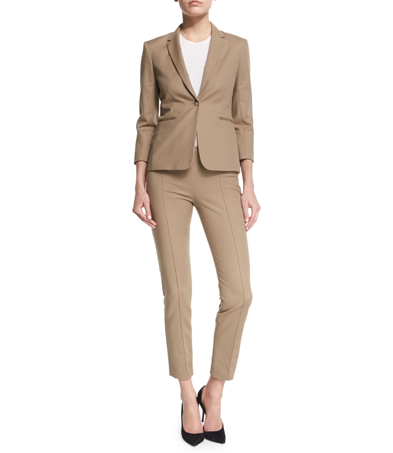 CROPPED SUIT