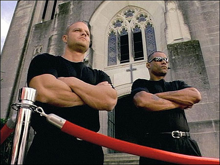 The bouncers at University Church have successfully maintained a 1:1 ratio