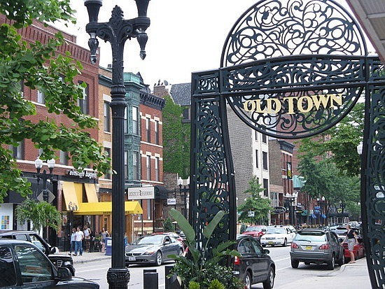 The gate to Old Town