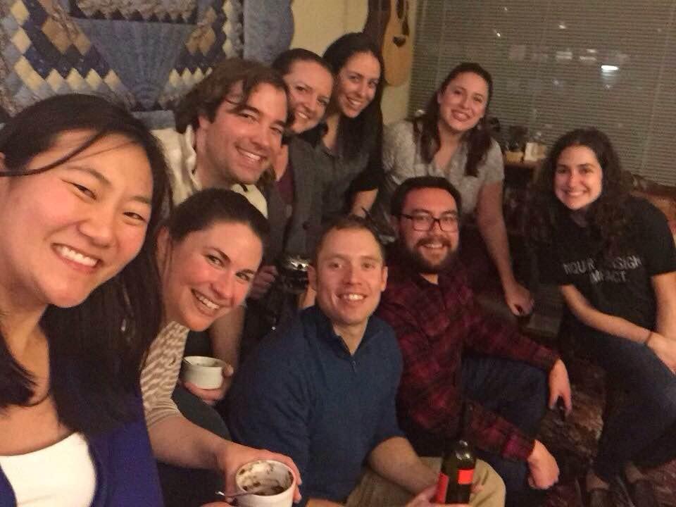 Iron Chef members from left - Michelle Oh, Jenny Rose, Dan Cuzzocreo, Todd Lake, Heather Rubacky, Jana Zagorski, Andrew Kreitz, René Grafwallner and Dana Robinson