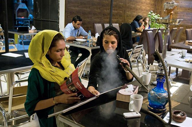 60 percent of University students in Iran are female, showcasing a surge in educated young people