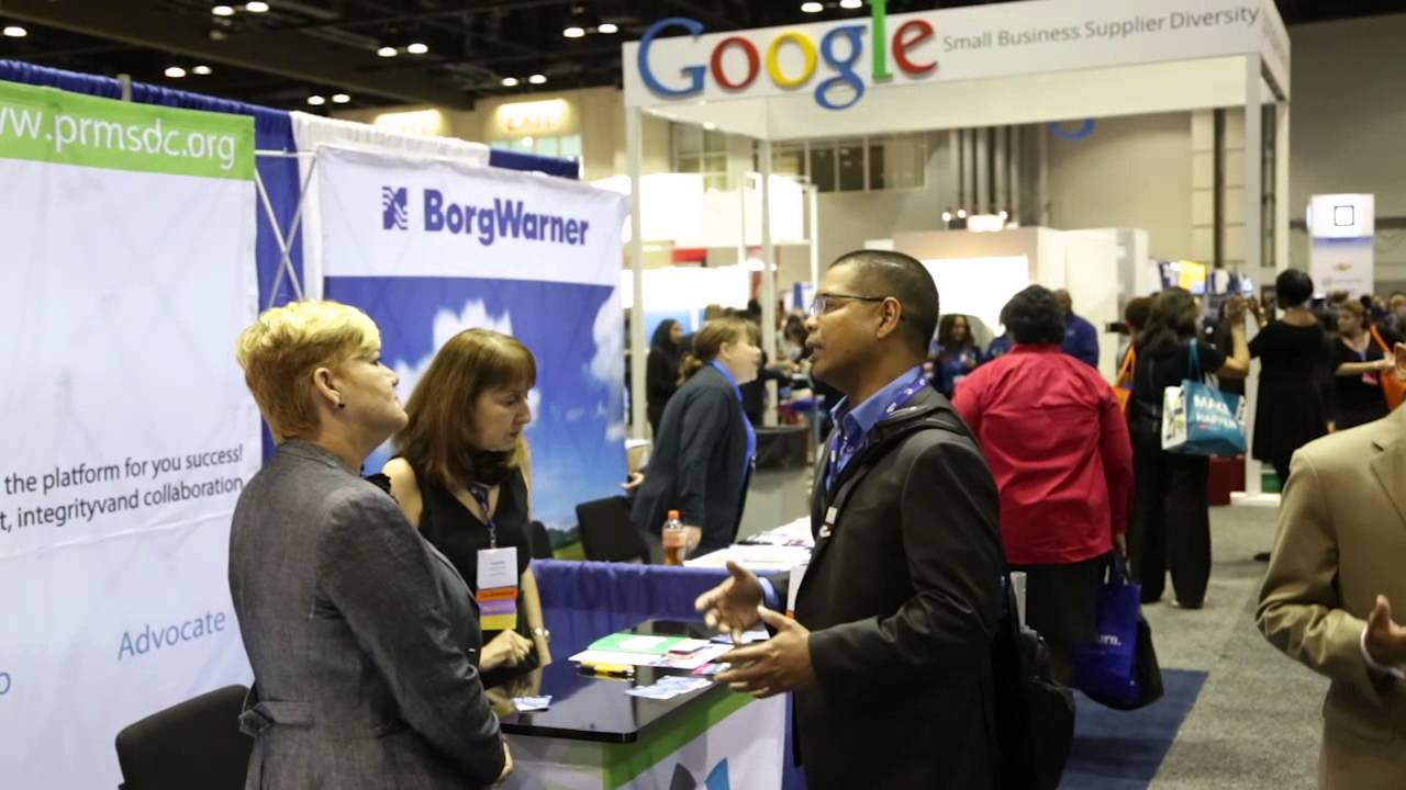 Conference attendees got a chance to network and connect with over 700 exhibitors across major industry giants like GE and Google.