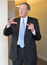 Harry Davis, the Roger L. and Rachel M. Goetz Distinguished Service Professor of Creative Management