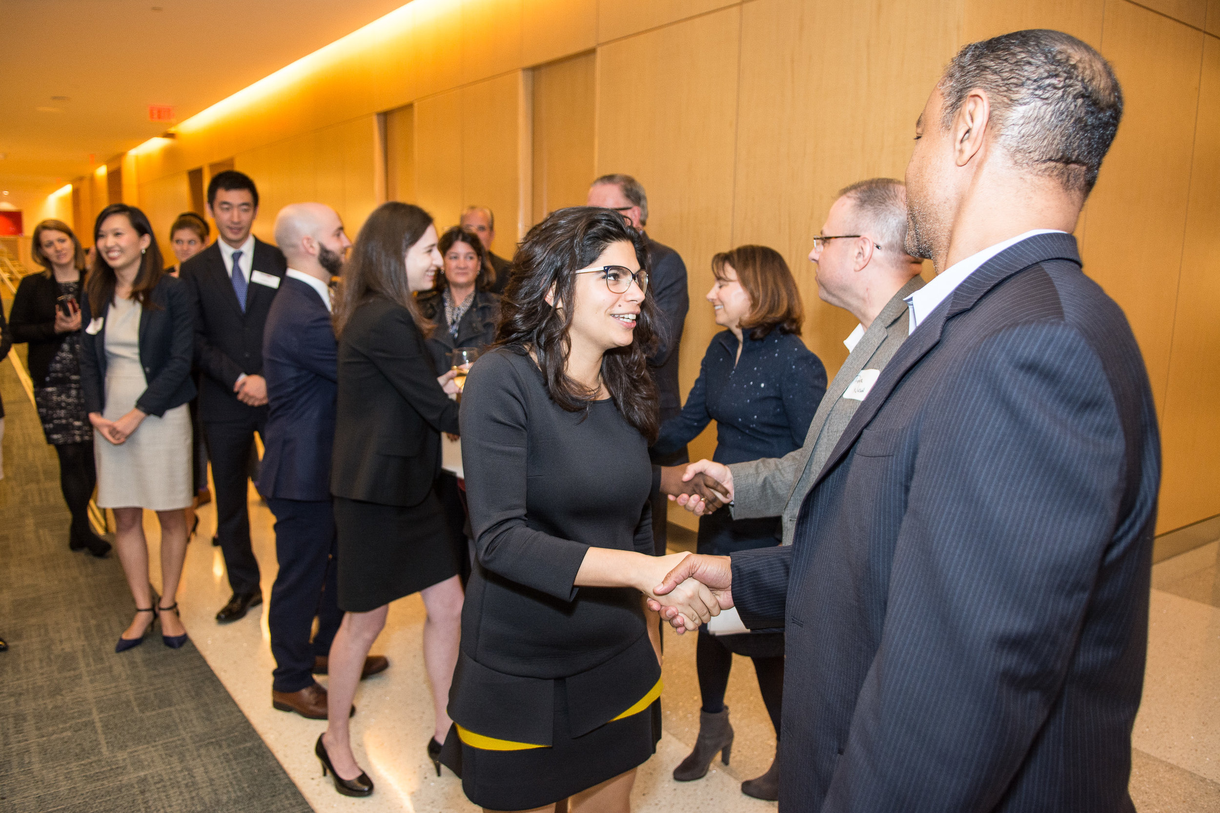 The competition brought together MBA students from a number of schools and allowed them to network with media and technology industry executives and recruiters while at the Comcast Center in Philadelphia.