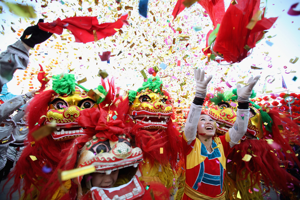 In China and in ethnic communities around the world, the lunar new year is the most festive holiday of the year.