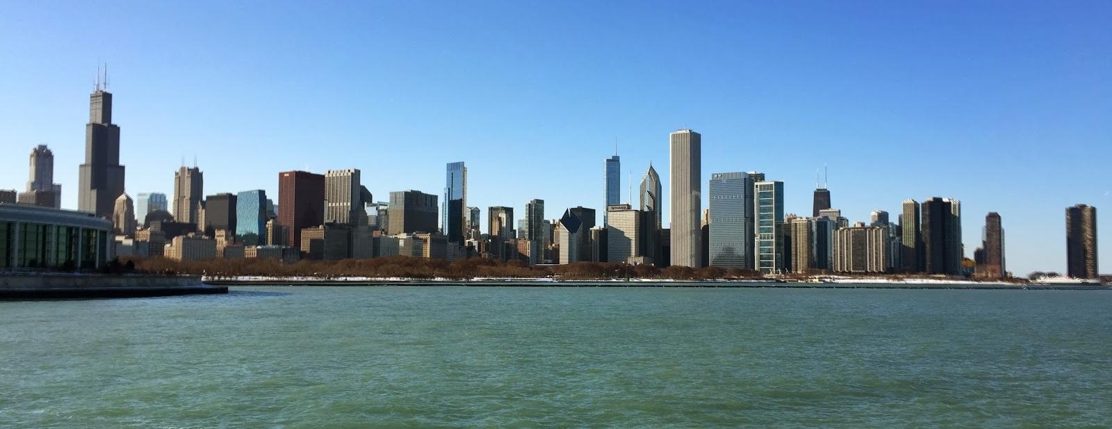 Chicago's iconic skyline.