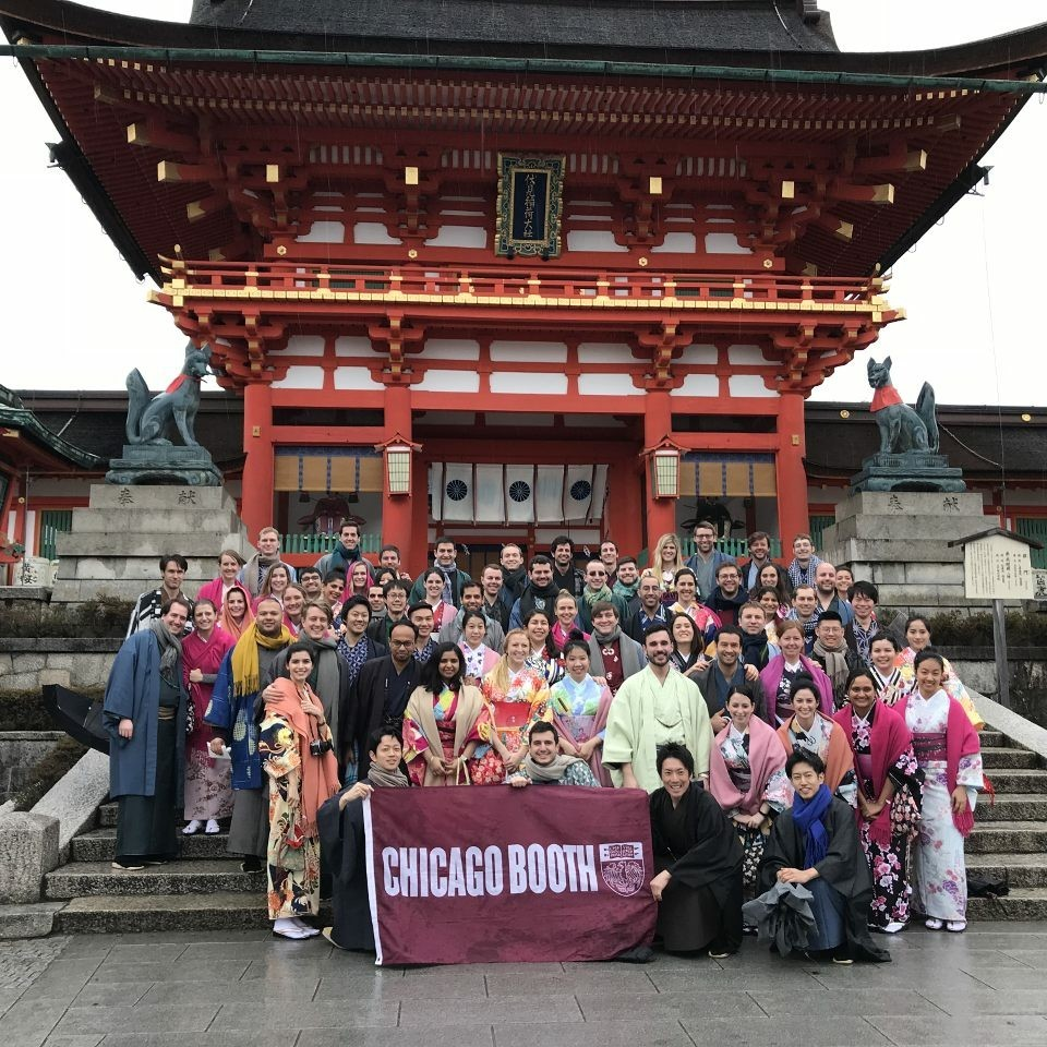 The Japan Trek visits the Fushimi-Inari Shrine in Kyoto