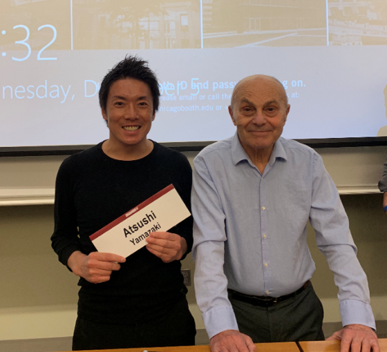 Ticking a PhD-level class with Eugene Fama off the Booth bucket-list