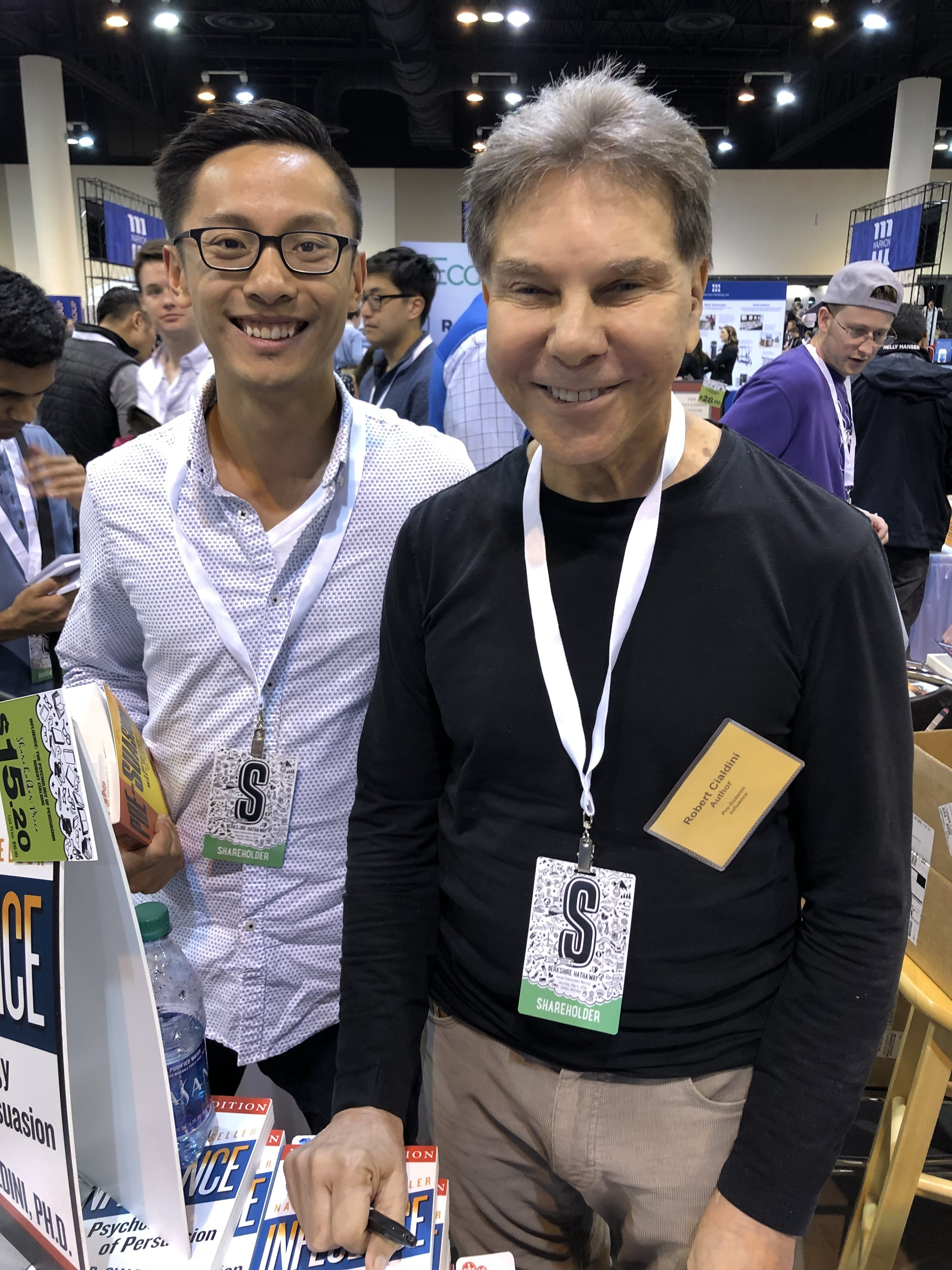 """Author with Robert Cialdini, author of """"Influence,"""" and """"The Power of Pre-suasion."""""""