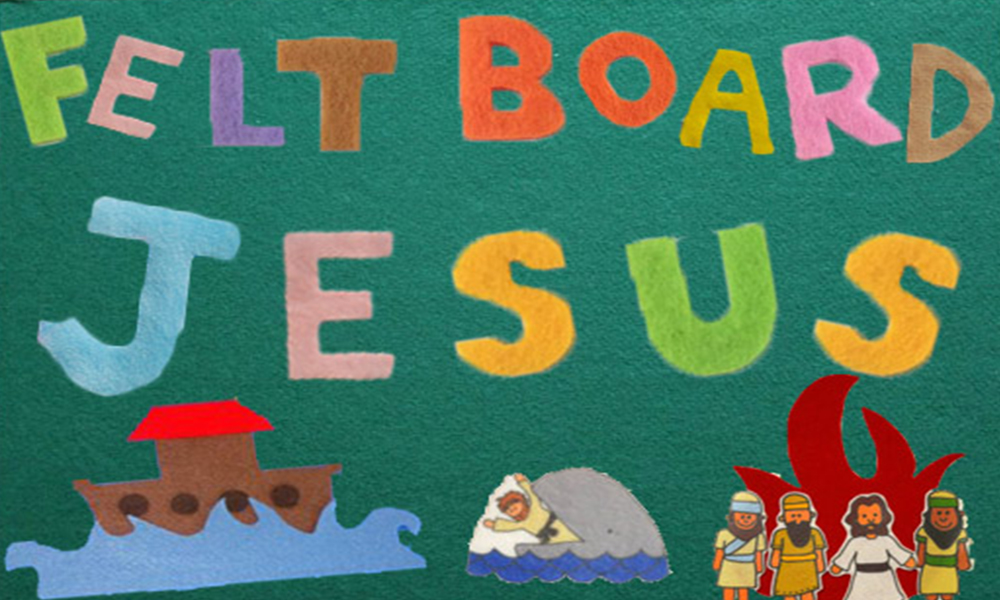 Felt Board Jesus - 4.2.17 | Part 1 | Phillip Martin