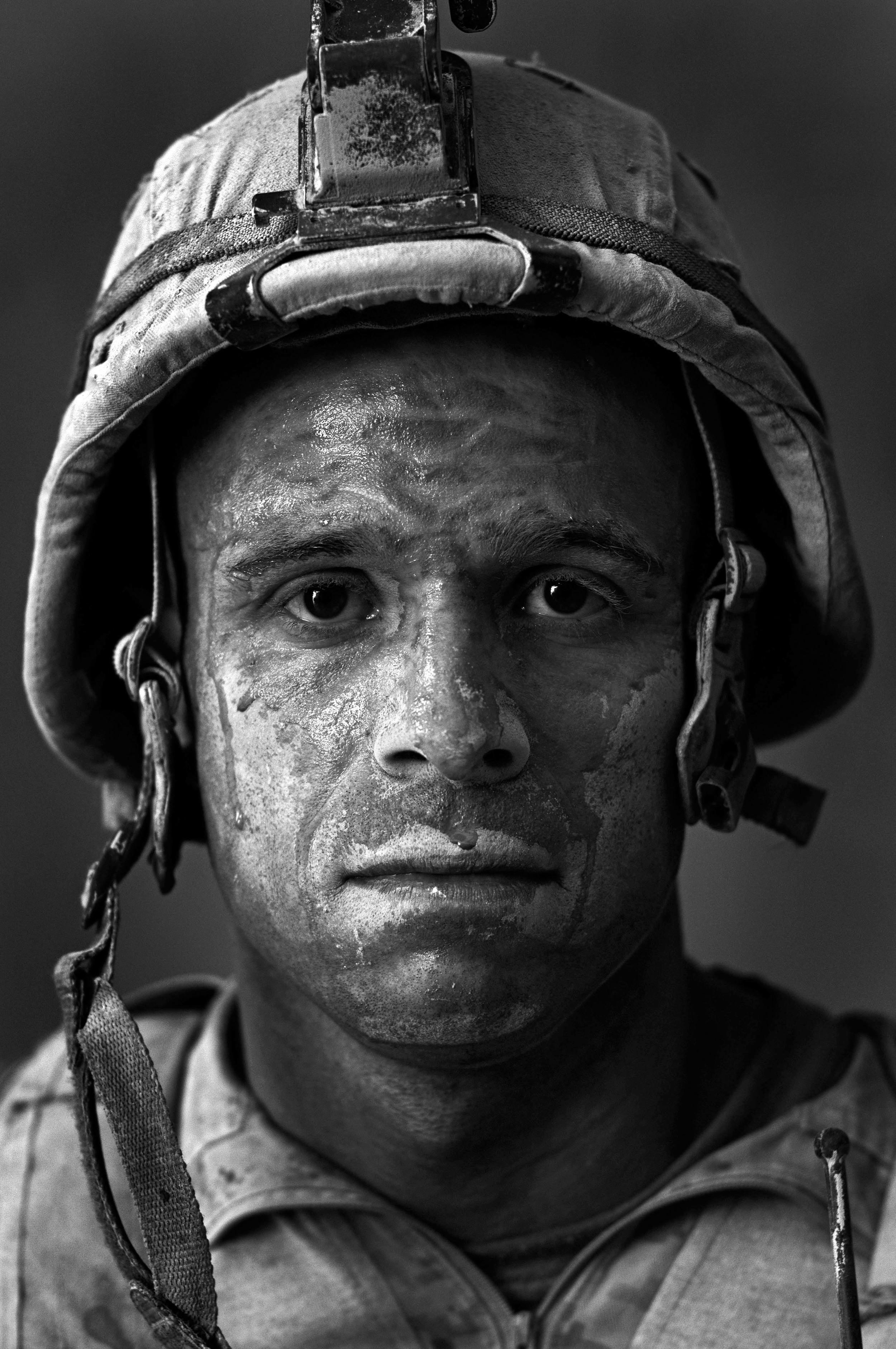 U.S. Marine GySgt. Carlos ''OJ'' Orjuela  ©Louie Palu/ZUMAPRESS.com