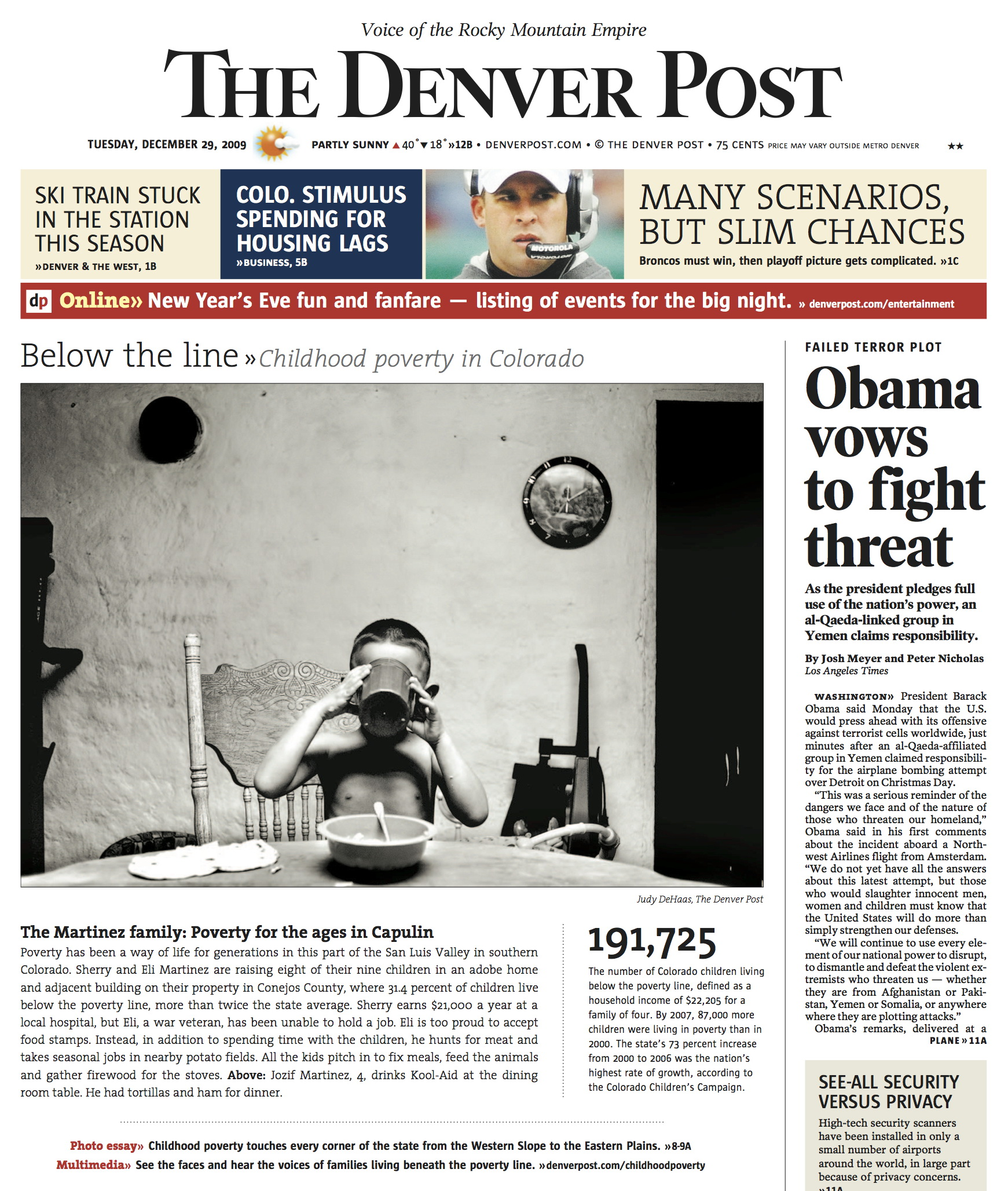 Child Poverty  ©  Denver Post