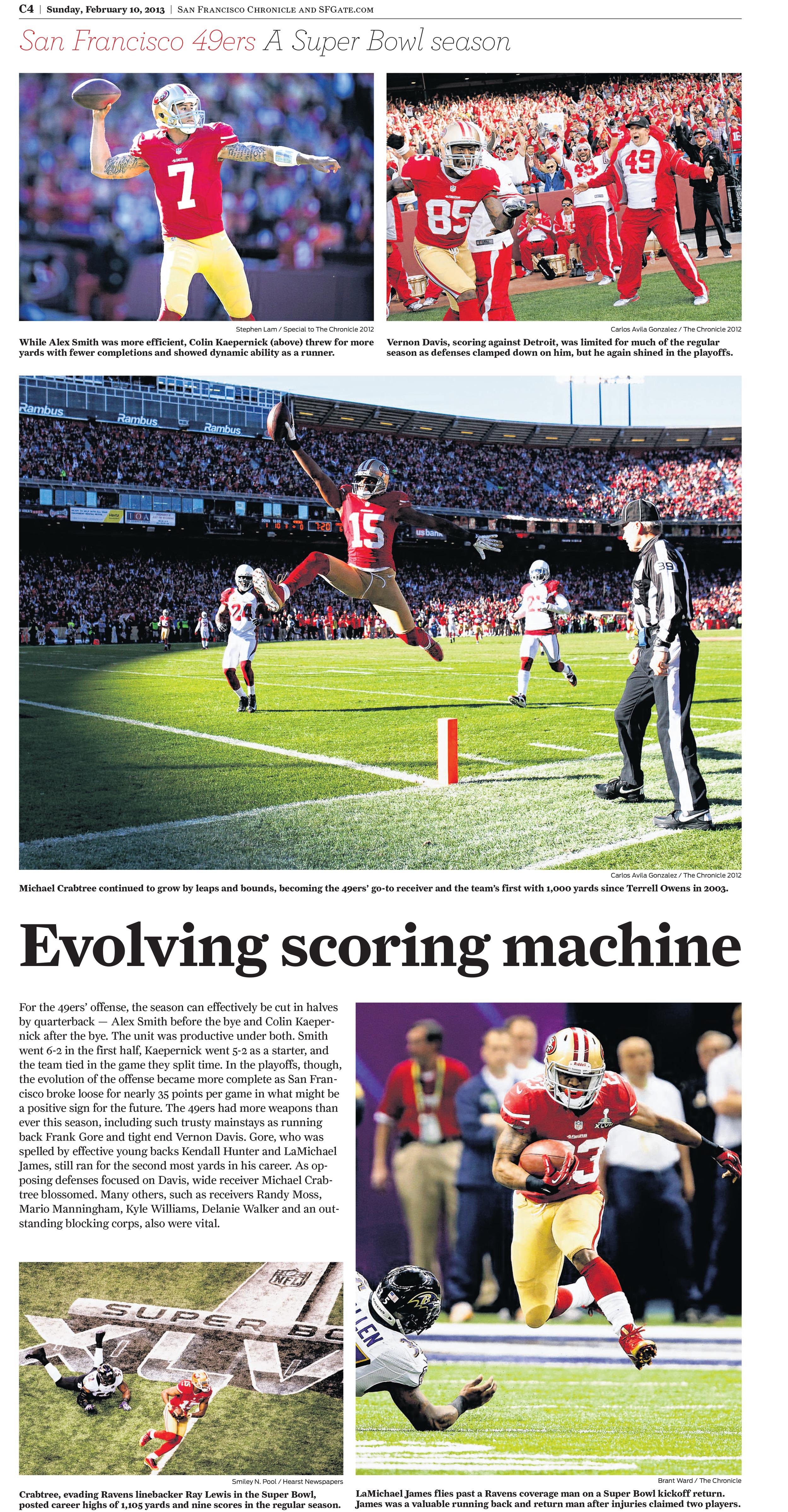The San Francisco Chronicle and SFGate.com February 10, 2013 © San Francisco Chronicle