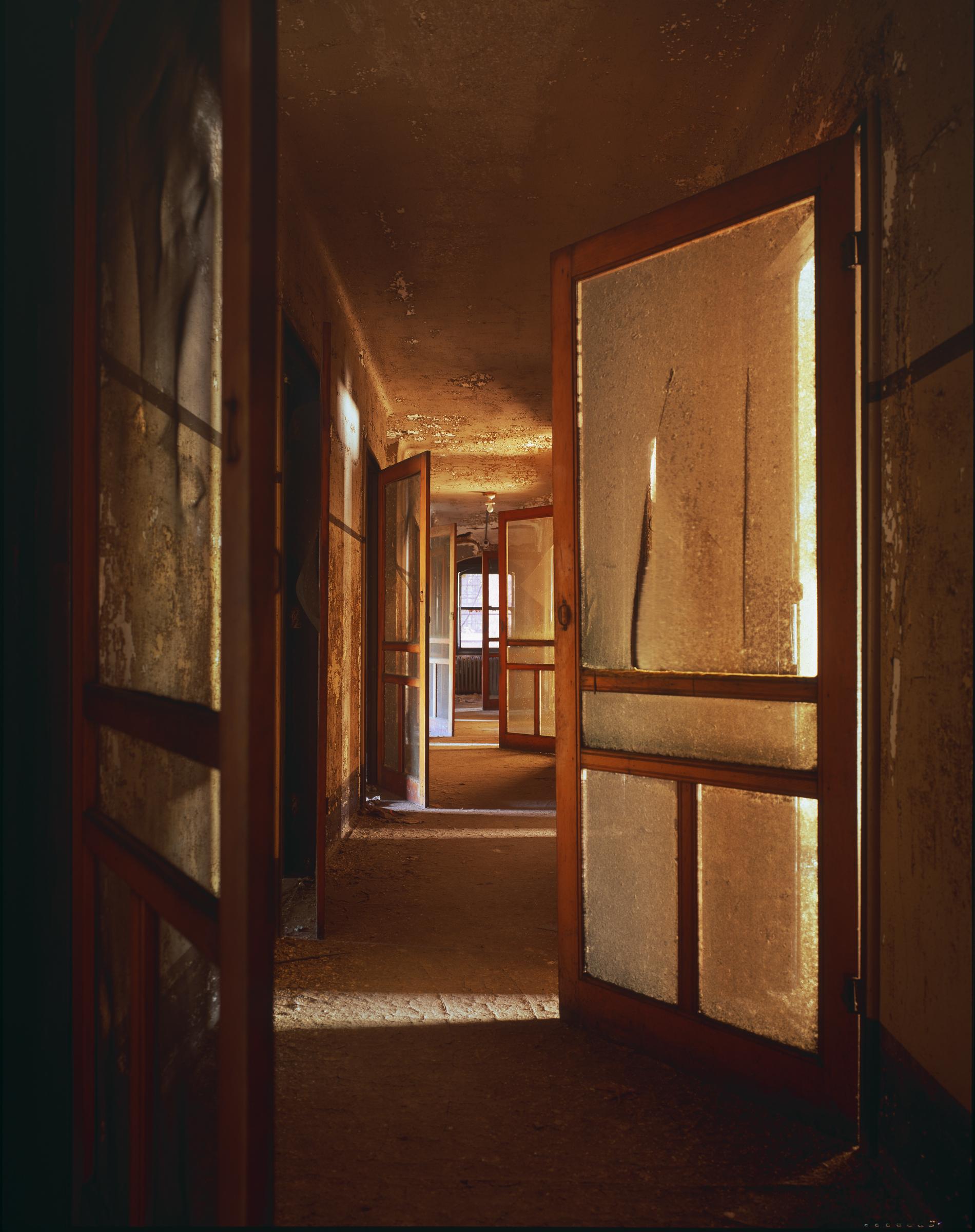 Ellis Island: Nurses' quarters, Island 3 © Stephen Wilkes